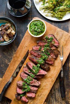Hanger Steak with [Italian] Salsa Verde – WILD GREENS & SARDINES