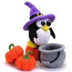 pingüino de Halloween