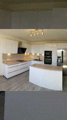 Luxury Kitchen Design, Kitchen Room Design, Home Decor Kitchen, Interior Design Living Room, Kitchen Cupboard Designs, Wall Decor Design, Cuisines Design, Küchen Design, Lifestyle Fashion