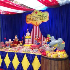 """El Gran Circo de Martín"" Birthday Party Ideas 