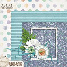 Quality DigiScrap Freebies: Use It All April Challenge tiny kit freebie from Kimeric Kreations