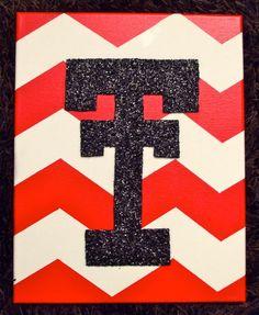 Texas Tech Double T by PinkPearlArt on Etsy, $25.00