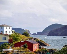 Bishop's Harbour At Salvage - Salvage, Bonavista Bay, Newfoundland Photography by Stone Island Photography