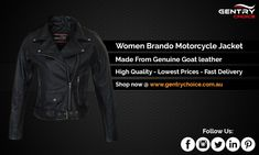 ✔️Made from genuine Goat leather – proven soft, durable and long lasting material ✔️Internal safety pocket to install CE standard Armors (included) to ensure your spine, shoulders and elbows ✔️Original YKK® zippers used throughout ✔️2 diagonal Zippered pockets – Can also be used as vent  #picoftheday #sydneybikershop #sydneybikerjacket #sydneyshopping #GentryChoice Biker Jackets, Motorcycle Jacket, Biker Shop, Mobile Pocket, Winter Leather Jackets, Arm Stretches, Riding Gear, Lady Biker, Armors