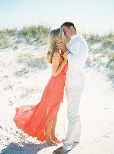 Pensacola Beach and Palafox Pier engagement session / photo by… Beach Engagement, Engagement Session, Engagement Photos, Wedding Beach, Nautical Wedding, Beach Wedding Inspiration, Wedding Ideas, Pensacola Beach, Social Events
