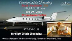 Fight To Uman Rosh Hashana 2016 #privateJet #AirCharterservices