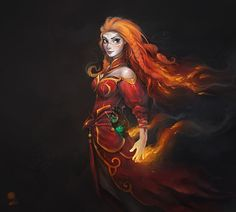 DOTA Heroes Drawn In The Style Of Disney Characters