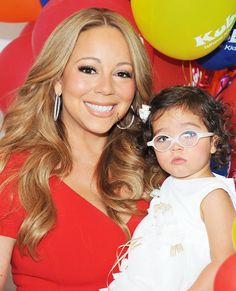 Famous Families: Like Mother, Like Daughter - Mariah Carey and Monroe Cannon from #InStyle