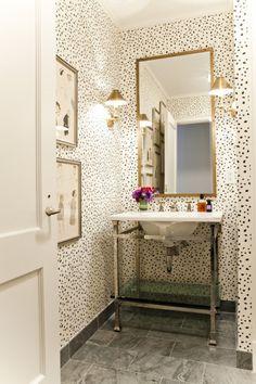 dalmatian bathroom