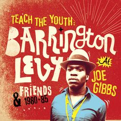 Barrington Levy, artwork and typography.