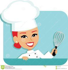 female chef cartoon - Google Search