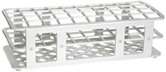 Heathrow Scientific HEA243071W Fold and Snap Rack for 21mm Tubes, White:   Economic rack, color white, size 21mm. Easy-to-assemble polypropylene rack fold and snap together.  Product is autoclavable & ships flat. Size: 245(L) x 108(w) x 72(H) mm. Also available in yellow, blue or white colors