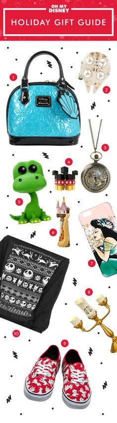 The holidays are finally here, and you know what that means? It's time to go shopping! If you've been having trouble figuring out what to get your Disney-obsessed friends this year, we've got just the list for you. We've rounded up 10 of the best Disney-themed gift ideas, some of which are so awesome that you'll probably want to treat yourself.