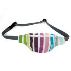 Striped hip bag / Kolorowa nerka - torebka na pas lub biodro