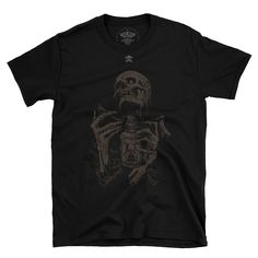 bad vibes. Bad To The Bone, Skull, Mens Tops, Fashion, Moda, Fashion Styles, Fashion Illustrations, Skulls, Sugar Skull