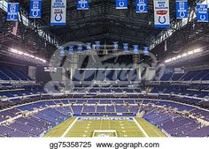 """""""Lucas Oil Stadium in downtown of Indianapolis, Indiana"""" -Indiana Stock Photo from gograph.com"""
