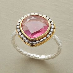 Sundance Pink Martini Ring. I love Sundance jewelry. This ring is absolutely gorgeous.