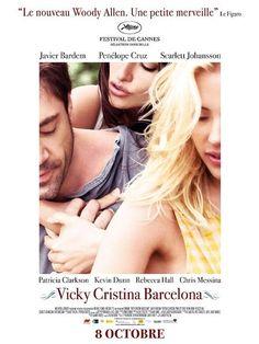 Vicky Cristina Barcelona (2008) - Vicky et Cristina sont d'excellentes amies, avec des visions diamétralement opposées de l'amour : la première est une femme de raison, fiancée à un jeune homme respectable ; la seconde, une créature d'instincts, dénuée d'inhibitions et perpétuellement à la recherche de nouvelles expériences sexuelles et passionnelles.