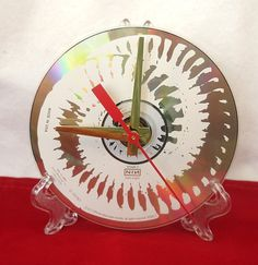 CD-Tischuhr  The Downward Spiral 1994 recycelt von ItsOurEarth