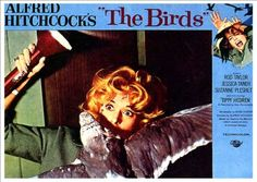 Veronica Cartwright, Tippi Hedren, Morgan Brittany, and Suzanne Pleshette in The Birds Entertainment Weekly, We Movie, Film Movie, Vintage Movies, Vintage Posters, Alfred Hitchcock The Birds, Jessica Tandy, Suzanne Pleshette, Tippi Hedren