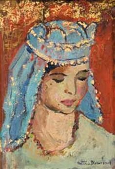 A Malay Bride par NerineDesmond Artist, Painting
