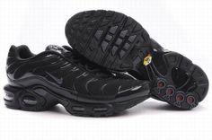 best sneakers bc71d 2f1d5 Nike Air Max Tn Men new models tn requin pas cher noir homme Chaussures All  Black Mesh