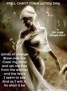 Spell chant for a Windy day
