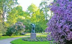 Tove Jansson's (Moomins) park in Helsinki.