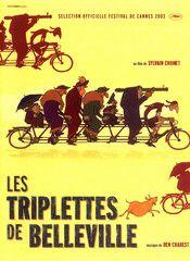 Les triplettes de Belleville (Sylvain Chomet 2003)