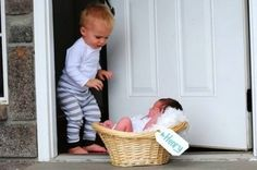 leuk idee bij een nieuwe baby