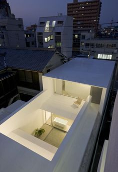 Best Ideas For Modern House Design & Architecture : – Picture : – Description MA-House by Katsufumi Kubota Blog Architecture, Minimalist Architecture, Japanese Architecture, Residential Architecture, Contemporary Architecture, Design Minimalista, Modern House Design, Building Design, House Building