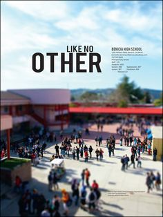 i like the big picture, i like it as a title page, and i like the theme idea -- like no other!! Teaching Yearbook, Yearbook Class, Yearbook Pages, Yearbook Spreads, Yearbook Covers, High School Yearbook, Yearbook Theme, Yearbook Design Layout, Yearbook Layouts