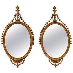 Pair of Period George III Mirrors