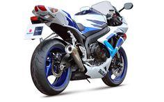 Download wallpapers Suzuki GSX-R600, 2019, sportsbike, new GSX, Japanese motorcycles, 4k, Suzuki