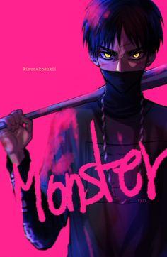 Monster. Artist: Lena (Twitter) @ inunekosukii Source below:
