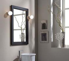 Lampada alogena Anaiss - Applique da parete per illuminazione bagno, specchio e specchiera. Chromed lamp with halogen light. Ideal for bathroom ambience.  #madeinitaly #design #outlet #offers