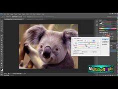 ▶ Photoshop Cs6 Oil Painting Tutorial - YouTube
