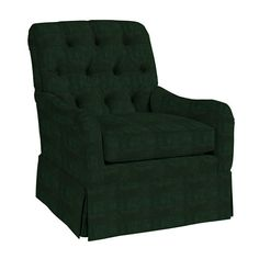 Howard Tufted Swivel Glider