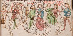 Wolfenbüttel, Herzog August Bibliothek,  Thomasin <Circlaere>   Welscher Gast (W) — Süddeutschland, 3. Viertel des 15. Jhs. Cod. Guelf. 37.19 Aug. 2° Folio 18r