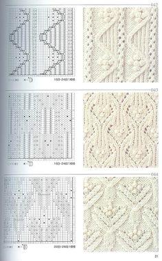 Япон�ка� книга узоров (�пицы) 042