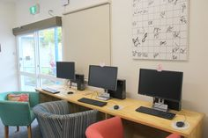 Newly refurbished Maclean Library.
