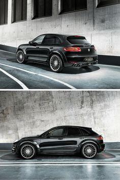 The Porsche Macan Hamann Widebody.