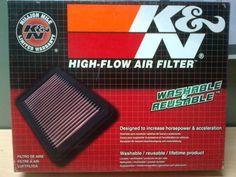 K&N Replacement Air Filter - Bajaj Pulsar Air Filter, Filters