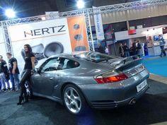 Porsche 996 Turbo with Hertz audio
