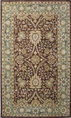 $5 Off when you share! Safavieh Antiquities AT249 Chocolate Rug | Traditional Rugs #RugsUSA
