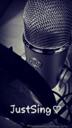 Hey everyone! Singing is my passion so I took a picture of my mic and edited it! Hope you like! Like, repin, and follow! ! :) Mariah Seeley  #Mariahseeleyphotography