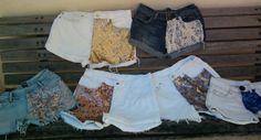 Os short da Sansara Milinda estão maravilhosos, vários estilos, tamanhos e detalhes.