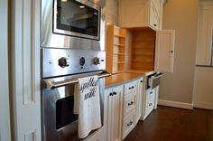 nook for mixer Bakers Kitchen, Nook, Mixer, Kitchen Remodel, Kitchen Cabinets, Image, Home Decor, Nooks, Decoration Home