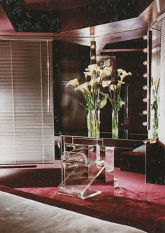 1980's Interiors are Back! Get out your Nagels!