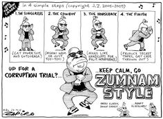 LOL- Keep Calm, Go Zumnam Style, ZAPIRO.  (I can see another protest coming...)
